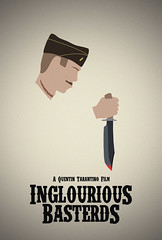 Inglourious Basterds - Mock Poster (Jordan.A.) Tags: movie poster graphicdesign blood moustache filmposter minimalist quentintarantino posterdesign bowieknife mockposter minimalistdesign inglouriousbasterds aldoraine ww2movie thismightbemymasterpiece