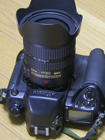 F5の頃から使ってたAF-S 24-120mm
