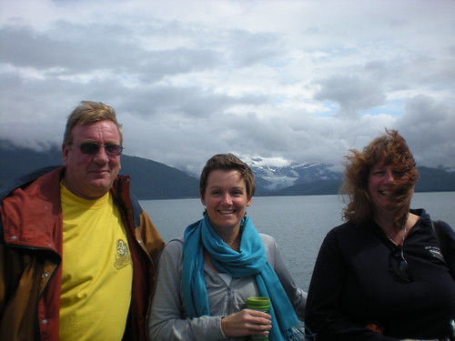 Allen Judy and I on ferry from Skagway