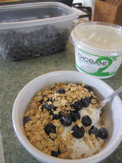 Toasted Oats on Chobani