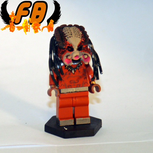Predator without Mask custom minifig