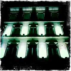 Creepy hotel (Tapachu) Tags: paris building square holga lomo crossprocessed iphone squarephotography hipstamatic