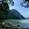 Thinking of early retirement at lake Königssee (B℮n) Tags: lake germany bavaria berchtesgaden topf50 relaxing peaceful kings future fjord summertime hikers paragliding thealps topf100 bluelake retirement paragliders cleanwater königssee southgermany berchtesgadenerland 100faves 50faves nationalparkberchtesgaden berchtesgadennationalpark retirementplan germanbavarianalps hetzwitserlevengevoel schönauamkönigssee berchtesgadenalps stretchesabout77km formedbyglaciers nearborderwithaustria picturesquesetting sheerrockwalls royalmountainexperience cleanestlakegermany playflugelhorn steeplyrisingflanksmountainsup2700m hikingtrailssurroundingmountains mostbeautifulareaalps mostsmaragdcolouredlake mostkönigssee