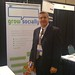 CEO, John Foley at the Grow Socially booth at InterACT