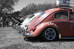 Victoria Volkswagen Club 2 HDR (Evan Godo) Tags: canada window vw port canon bug eos rebel interestingness interesting bc beetle explore turbo dual hdr oval 1959 1965 xsi 1600cc 450d volkswaggen