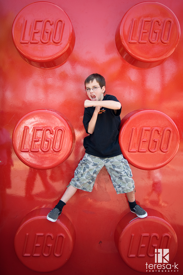 Teresa Klostermann, Folsom photographer, Lego store picture from Downtown Disney