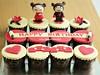 Ninja Pucca Cupcakes
