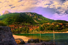 Il Lago  Molveno (TN) (Gianni Armano) Tags: creative moment digitalcameraclub creativemoment