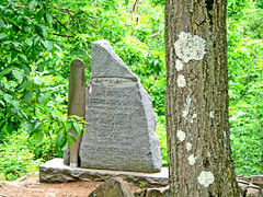 For Those who Fell (tomswift46 ( Hi Res Images for Sale)) Tags: trees tree monument stain stone moss falling fallen summit lichen mtholyoke