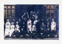 Sick and Injured Belgian Soldiers (Smabs Sputzer) Tags: red vintage army war cross belgie grandfather tired soldiers belgian nurse ww1 weary beckenham vad smabs sputzer