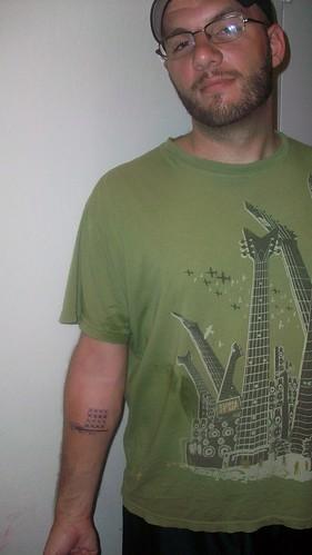 tattoo crossstitch craftytattoo whateverjames