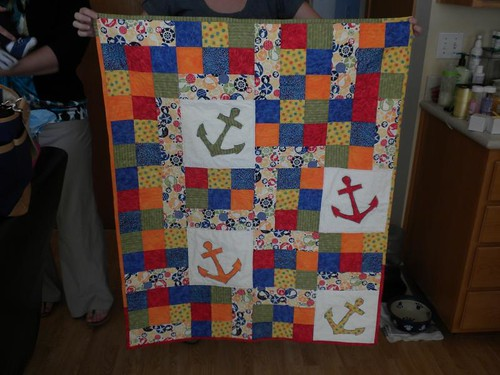 Anchor Baby Quilt front