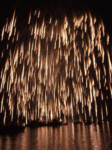 宮島水中花火大会 2010 画像23