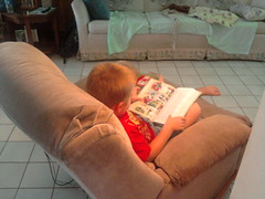 Reading with Nathan