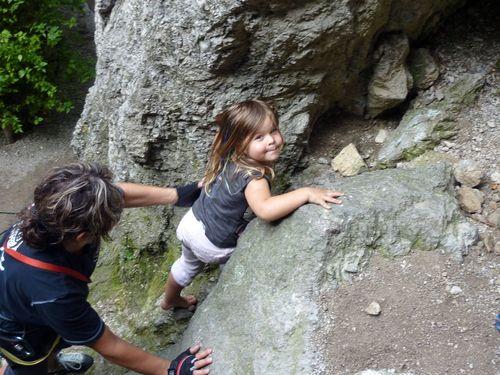 Lena-Marie klettert