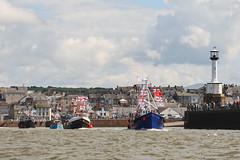 Maryport Trawler Race 2010 (Dave Wilson Cumbria) Tags: sea race coast cumbria times trawler solway firth maryport cumbrian 2010ship