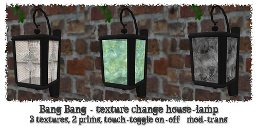 Bang Bang - House lamp
