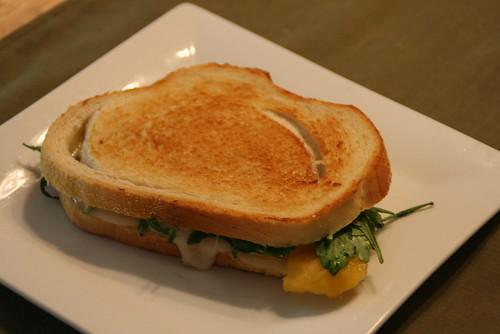 Peach Grilled Cheese