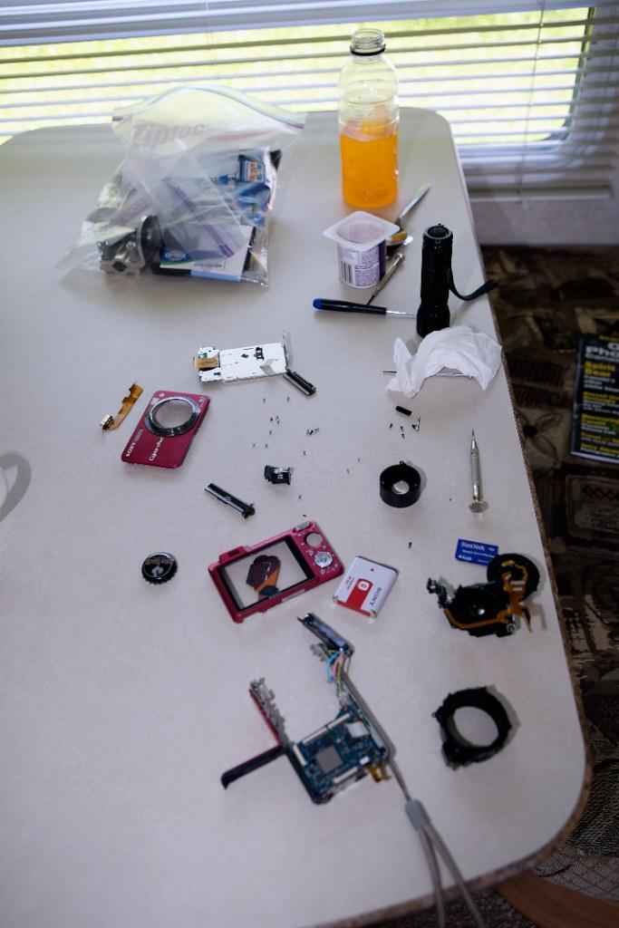 Camera Fix-it time