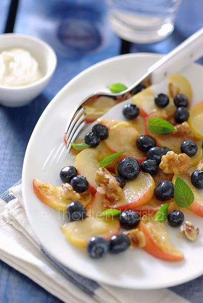 Apple-Blueberry-Salad