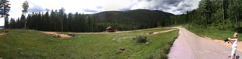 Panoramic photo at Jack's Creek