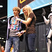 James Arnold Taylor and Ashley Eckstein at Star Wars Celebration V