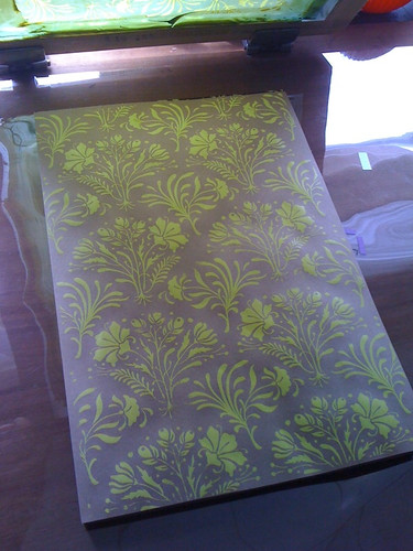 New silkscreen project