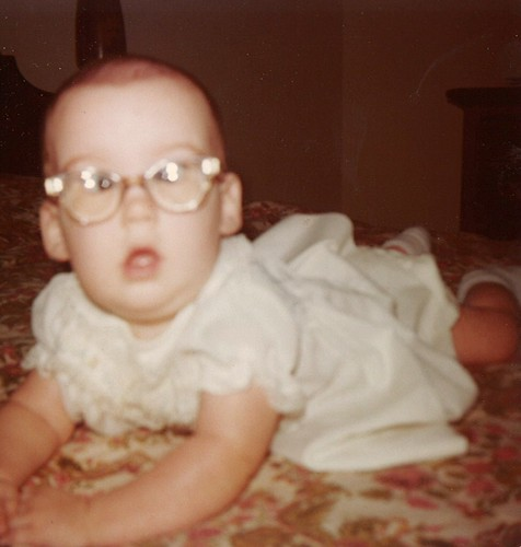 My first glasses, 1976