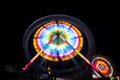 Skagit County Fair Part 3 (David's Images of Life...) Tags: canon photography photo fair 7d ferriswheel ultrawide fairrides canon7d tokina1116mm