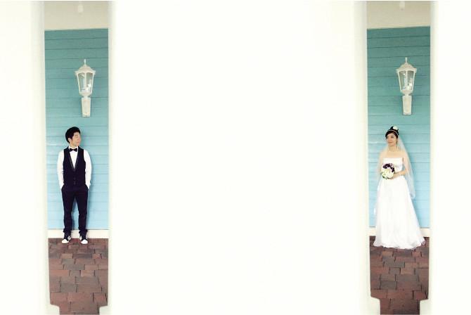 creative wedding photo hk