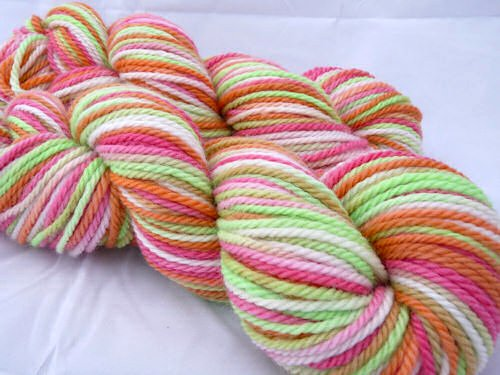 ~Fruit Salad~ Falkland Bulky Merino <b> SALE