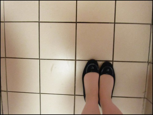 shoes and tiles