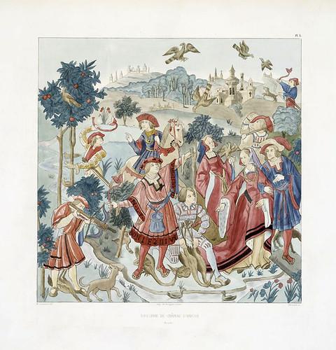 007-Tapiceria del Castillo de Haroué-Les anciennes tapisseries historiées…1838- Achille Jubinal