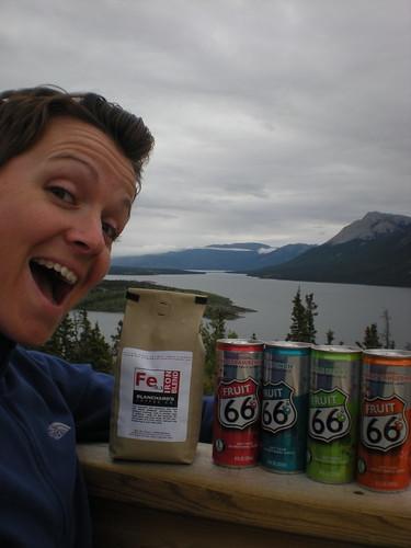 Yukon morning with sponsors 8/8/10