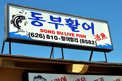 Dongbu Live Fish - Rowland Heights