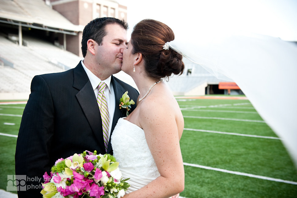 Lindsey + Sam | Allerton + Memorial Stadium wedding