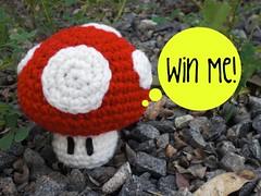 Ami Giveaway #1 - Mushroom