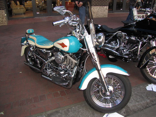 1996 Harley-Davidson Sporster, Gastown Motorcycle Show n' Shine 2010 Had Hell Angels and Bike Enthusiasts Ogling