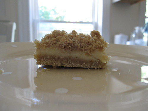 lemon bar layers