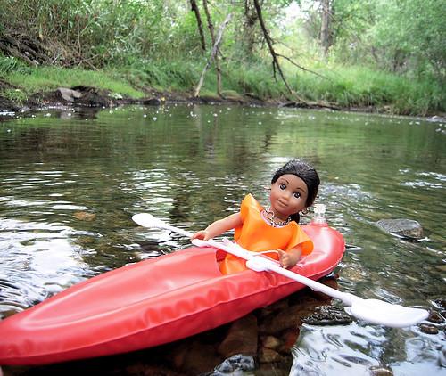Fina Kayaking Fun