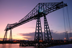 Tees Transporter Bridge ,Temenos and Teesside (DWH284) Tags: middlesborough teestransporterbridge