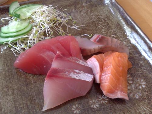 Sashimi at Kibou