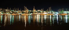 Yacht Park (MrHRdg) Tags: sea vacation holiday freeassociation night evening boat harbour croatia split trogir adriatic hrvatska dalmatia