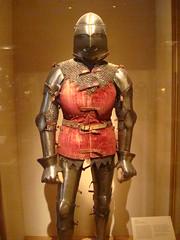 Italian Armor (IslesPunkFan) Tags: nyc ny newyork art history museum manhattan medieval armor met armour metropolitanmuseum metropolitanmuseumofart