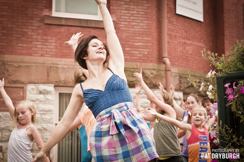 Flashmob in Stratford, Ontario