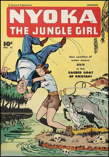 Nyoka the Jungle Girl #15