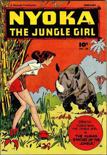 Nyoka the Jungle Girl #28