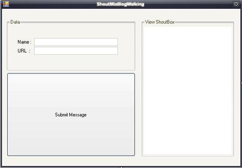 ShoutmiX AutoBlogwalking Software