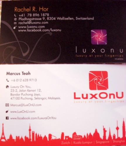 LuxOnU - puchong Contact