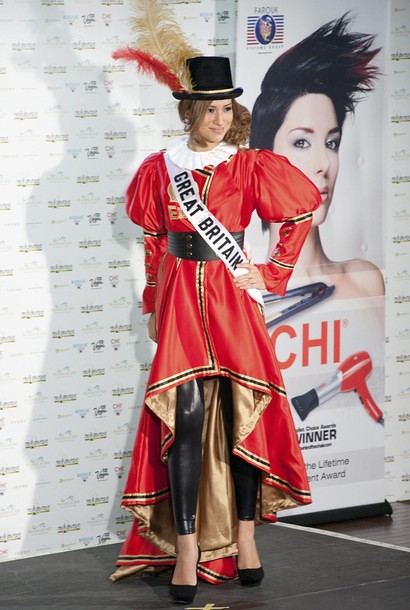 National Costume of Miss Great Britain